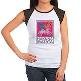 Hakuna matata Women's Cap Sleeve T-Shirt