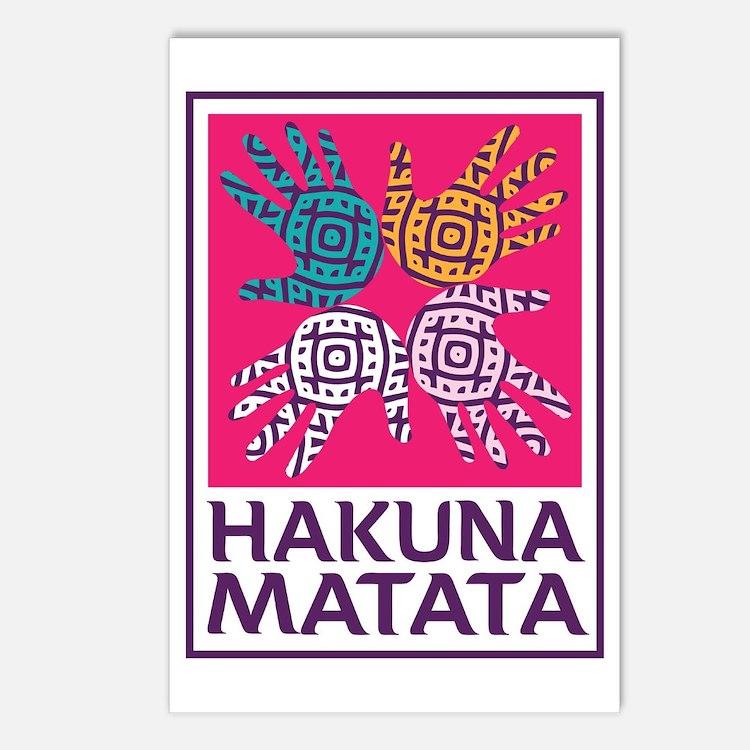 Hakuna Matata Postcards (Package of 8)