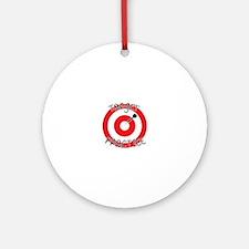 Target Practice Ornament (Round)
