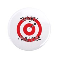 """Target Practice 3.5"""" Button"""