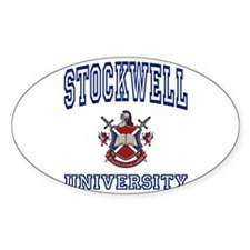 STOCKWELL University Oval Decal