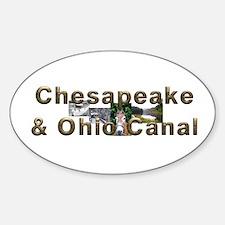 ABH C & O Canal Sticker (Oval)