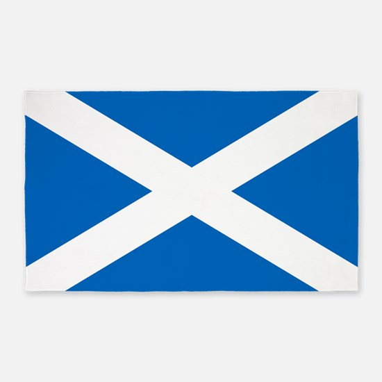 Scottish Flag 3'x5' Area Rug