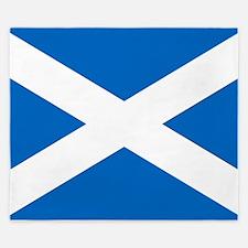 Scottish Flag King Duvet