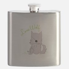 Lone Wolf Flask
