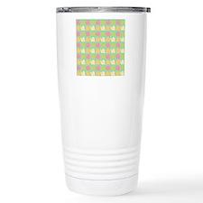 Retro Fun Snail Patter Travel Mug