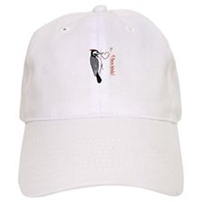 I Love Birds Baseball Baseball Cap
