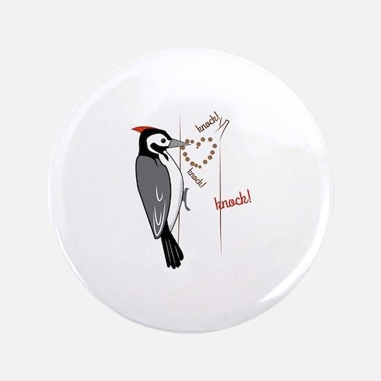 "Woodpecker 3.5"" Button"