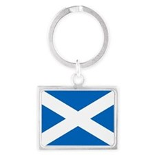Scottish Flag Keychains
