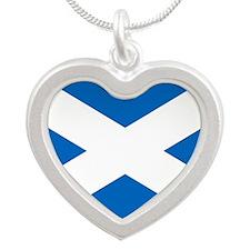 Scottish Flag Necklaces