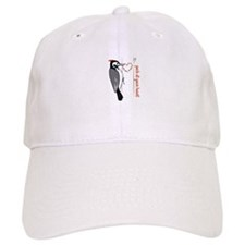 Peck At Your Heart Baseball Baseball Cap