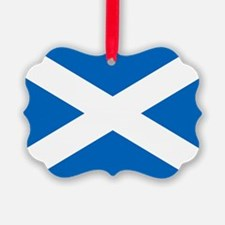 Scottish Flag Ornament