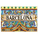 Barcelona Wrapped Canvas Art