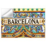 Barcelona Wall Decals