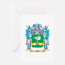 Fay Coat of Arms - Family Crest Greeting Cards