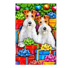 Wire Fox Terrier Open Gifts Postcards (8)