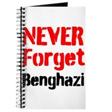 Never Forget Benghazi Journal