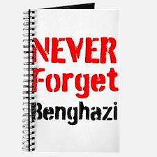 Never Forget Benghazi Journal