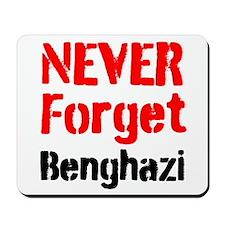 Never Forget Benghazi Mousepad