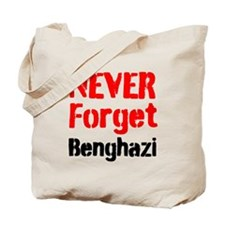 Never Forget Benghazi Tote Bag