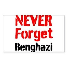 Never Forget Benghazi Decal