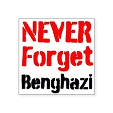Never Forget Benghazi Sticker