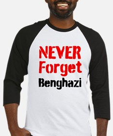 Never Forget Benghazi Baseball Jersey