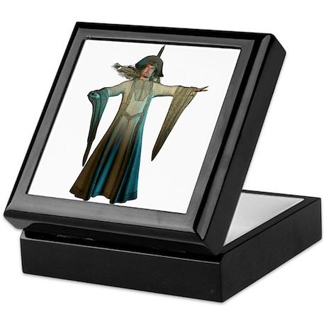 Green Wizard Keepsake Box