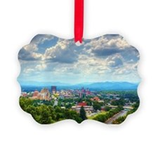 Asheville, North Carolina skyline Ornament