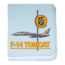F14 baby blanket