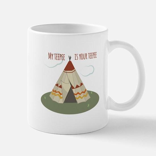Teepee Home Mugs