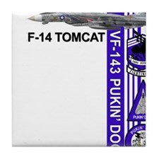 Tomcat Tile Coaster