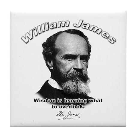 William James 03 Tile Coaster