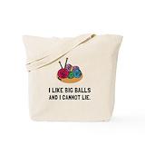 Big balls Canvas Tote Bag