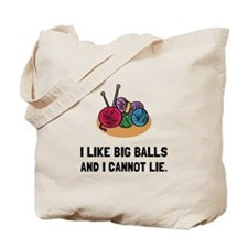 Big Knitting Balls Tote Bag