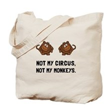 Circus Monkeys Tote Bag
