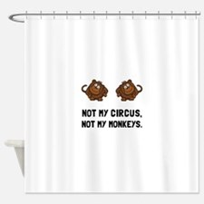 Circus Monkeys Shower Curtain