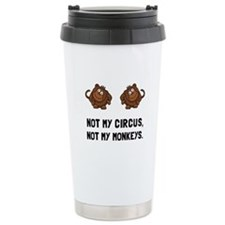 Circus Monkeys Travel Mug