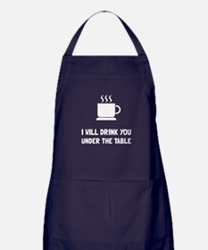 Drink You Under Table Apron (dark)