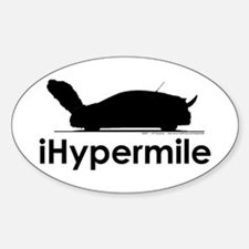 iHypermile - Oval Decal