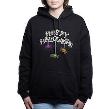 Happy Halloween Bones Women's Hooded Sweatshirt
