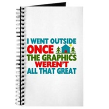 Went Outside Graphics Weren't Great Journal