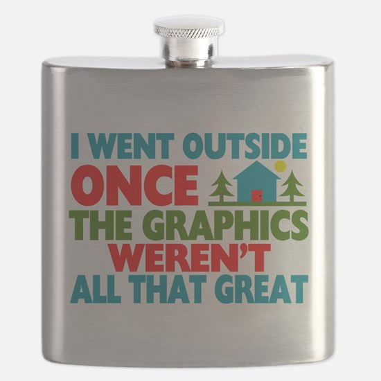 Went Outside Graphics Weren't Great Flask