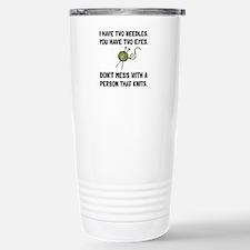 Person That Knits Travel Mug