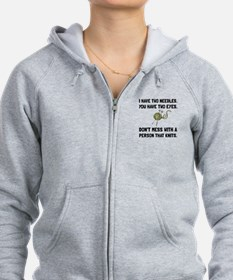 Person That Knits Zip Hoodie