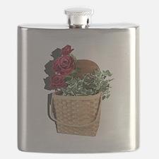 Cute Picnic basket Flask