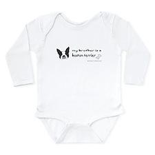 Unique Boston Long Sleeve Infant Bodysuit