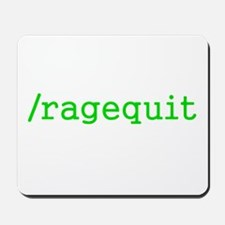 Ragequit Gamer Mousepad
