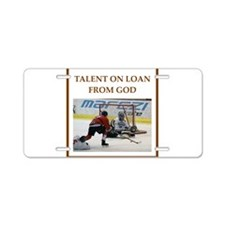 Cool Rink Aluminum License Plate