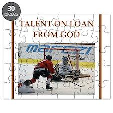 Cute Hockey humor Puzzle